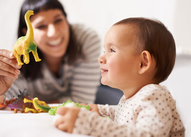 The ability to recognize words by the age of seven months facilitates language acquisition in infants.