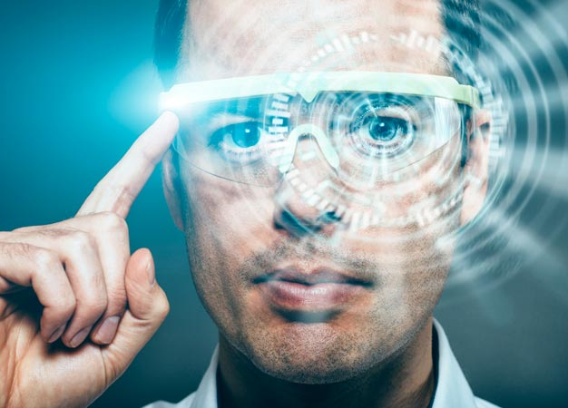 Future virtual reality devices are likely to be fitted with eye-tracking technology.
